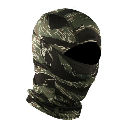 Tactical Camouflage Hunting Balaclava Face Scarf Neck Gaiter Snood Headwear Hats