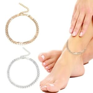 Gold-anklet-Cross-Crystal-Boho-Indian-Bollywood-Payal-Chain-Adjustable-MimonA