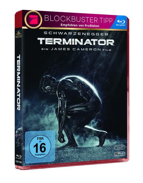 Terminator 1 - Uncut [Blu-ray/NEU/OVP] Arnold Schwarzenegger von James Cameron