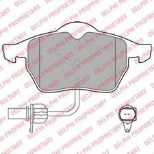 Scheibenbremse TRW GDB1381 Bremsbelagsatz