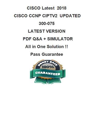 VCE Test Simulator Cisco CCNP Route 300-101 Exam Dump Test Q/&A PDF