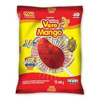 40pcs- Vero Mango W/chilli Lollipop The Original 1lb-6oz