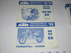 2 Parts List Catalogue Technique Ktm 60 / 65 Sx 1998 - 7qk7ycvr-08002253-792660978