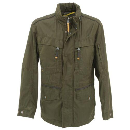 Camel Active señores clima chaqueta Gore-Tex Parka de transición chaqueta caqui verde 22749