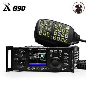 Details about Xiegu G90 HF transceiver 20W SSB/CW/AM/FM 0 5-30MHz SDR Radio  w/ Antenna tuner