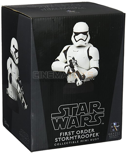 Star Wars Ep. VII VII VII First Order Stormtrooper DLX Deluxe Bust GENTLE GIANT Statue c39a58