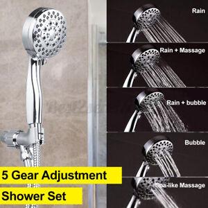 5-Modes-Adjustment-Shower-Head-Home-Bathroom-Rain-Shower-With-Shower-Hose