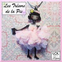 Collier Lol Bijoux - Pepette Poupée Mini Dorothée - Rose - Lolilota 2017