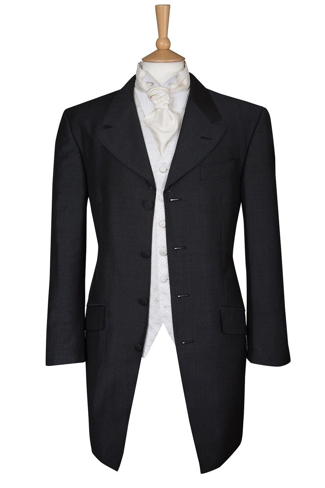 Prince Edward Charcoal Grey Jacket - Ex Hire