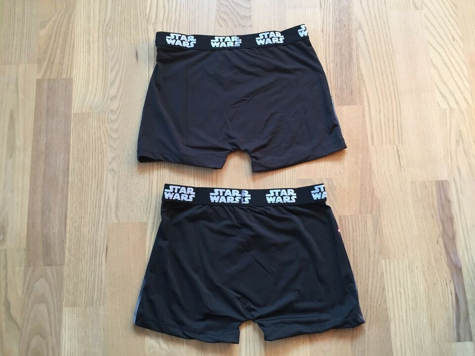 Undertøj, 2 par NYE Star Wars boxershorts, Star Wars
