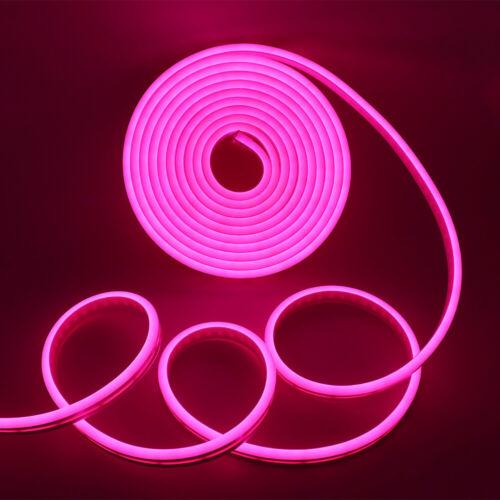 24-Keys Flex LED RGB Neon Light Ribbon Tape Strip Light for Home Sign Xmas Decor