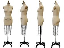 Collapsible Shoulder Female Pro Working Dress Form Half Size 8 Whiparm