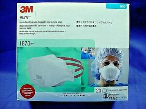 N95 Box About 1870 Of Aura™ 20 Respirator Healthcare Details Kb Particulate surgical Mask 3m