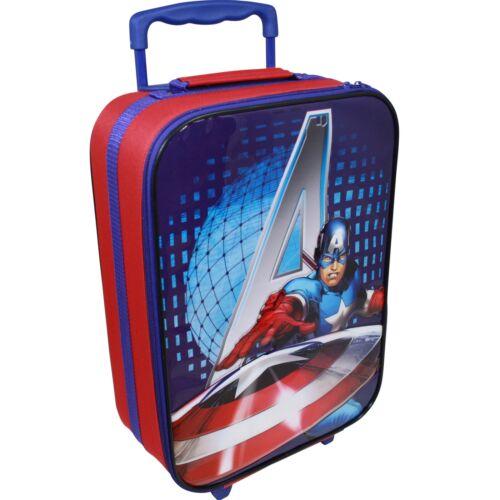 Marvel Avengers Koffer 15 L Trolley Kinderkoffer Handgepäck Kindertrolley Jungen