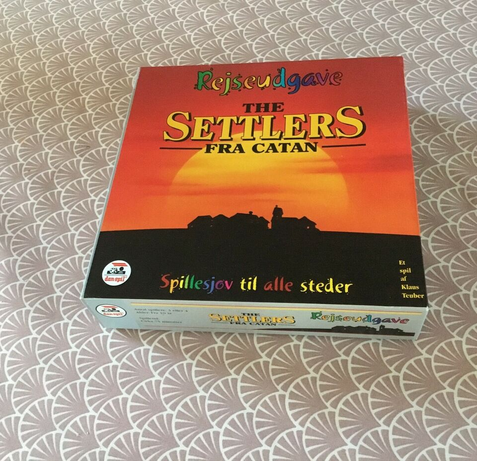 The Settlers fra Catan, Familiespil, brætspil