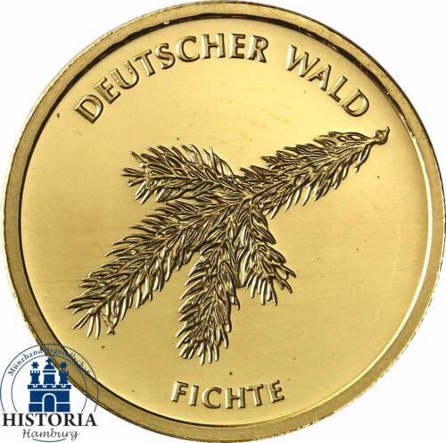 "Germany 20 Euro Gold /""Spruce/"" Series German Forest 2012 Gold Coin SKX A"