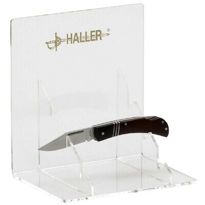 Ultima Raccolta Di Haller 2 Coltello Supporto Per 3 Tasche Coltello Trasparente Acrilico Supporto Coltello-
