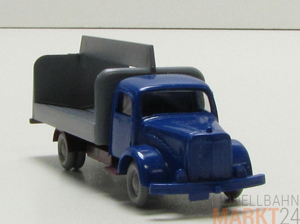 IMU Replika MB 5000 Getränke Wagen mit offener Ladefläche in in in blue H0 1 87 9c9df3