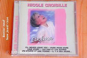 Nicole-Croisille-Cinema-Love-story-Vivre-pour-vivre-13-T-Boitier-neuf-CD