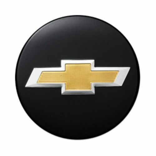 Genuine GM Wheel Center Cap Black W//Gold Bow-Tie 84375184