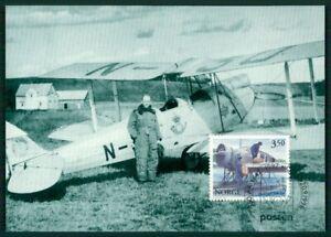 PerséVéRant Norvège Mk 1997 Bâche Postflight Oslo-malmö Maximum Carte Mc Cm En85-afficher Le Titre D'origine