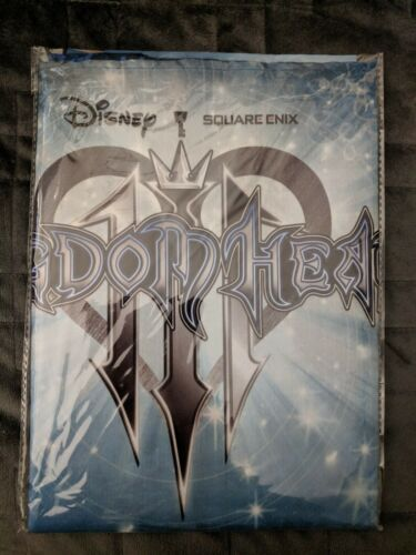 Kingdom Hearts 3 Fabric Poster