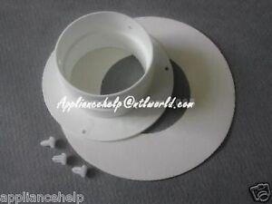 Image is loading Universal-Tumble-Dryer-VENT-HOSE-ADAPTOR-CONNECTOR-New & Universal Tumble Dryer VENT HOSE ADAPTOR CONNECTOR New 5053429743336 ...