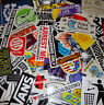 10 Random Skateboard Style Stickers. - 10 pack of lucky dip mix pack of Stickers