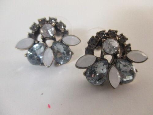 Banana Republic Moonlight Sun Opal Teardrop Cluster Stud Earrings NWT 49