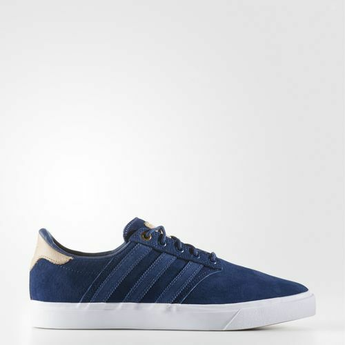 New adidas Originals SEELEY PREMIERE CLASSIFIED SHOES bluee White Brown BB8527 s1