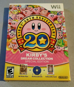 New-Factory-Sealed-Kirby-039-s-Dream-Collection-Special-Edition-Nintendo-Wii