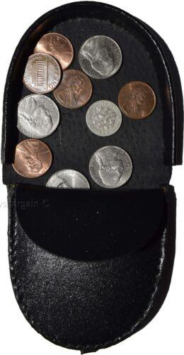 6 Porte monnaie monnaie Lot En Cuir NoirPorte Nouvelle Bourse De m0wO8nvN