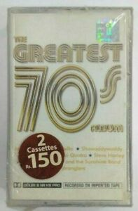 The Greatest 70's Album Set Of 2 Cassette