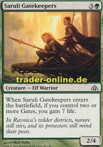 4x Saruli Gatekeepers Torwächter von Saruli Dragon/'s Maze Magic