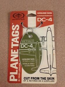 DC-4-C-54-R5D-Plane-Tag-Aircraft-Skin-Free-Shipping