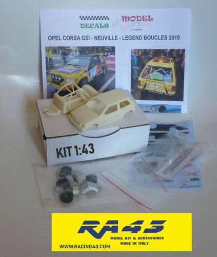 1//43 Opel Corsa GSI Rally Boucles Legend 2019 Neuville Kit