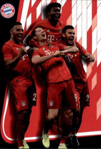 Panini FC Bayern München 2019//20 Karte 28 Jubel