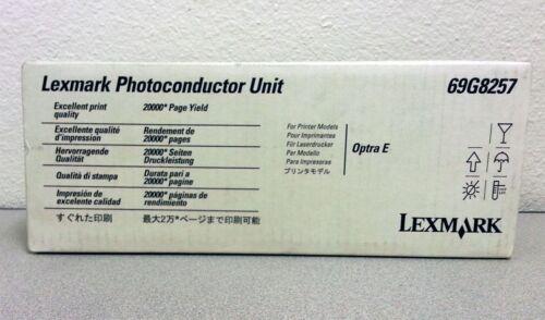 Ep NEW SEALED GENUINE OEM Lexmark 69G8257 Drum Photoconductor Unit Optra Es E