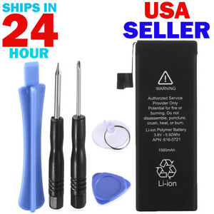 For-Apple-iPhone-5S-Genuine-OEM-Battery-Replacement-Kit-1560-mAh