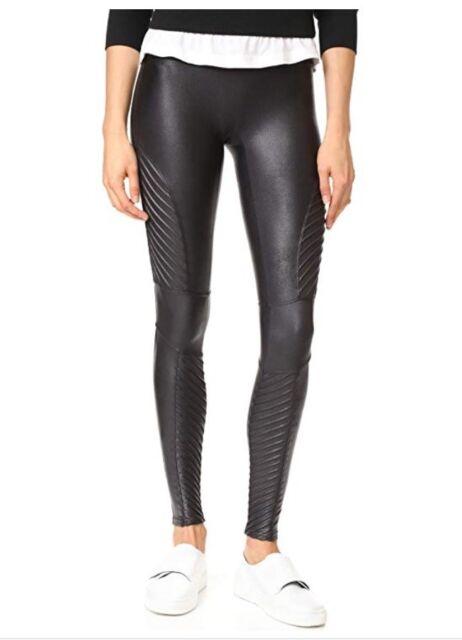 05710ba47c330 SPANX 20136R Fashion Women Slim Moto leather Leggings Stretchy Skinny Pants