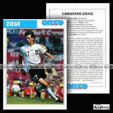 ZIEGE CHRISTIAN (SÜDSTERN 08 BERLIN, FC BAYERN MÜNCHEN EV) - Fiche Football 1996