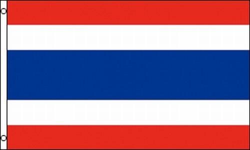 Thai Flag 3x5 ft Thailand Bangkok Phuket Siam Country Nation Kingdom SE Asia