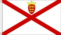 3' x 2' Jersey Flag Channel Islands UK United Kingdom Flags Banner