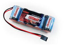 Tenergy 5 Cell 6V 1600mAh NiMH Flat Receiver Battery Pack For Traxxas Slayer
