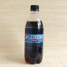 Japan PEPSI STRONG 5.0 GV Cola Soda *High Gas Volume* 1 Full Bottle Japanese