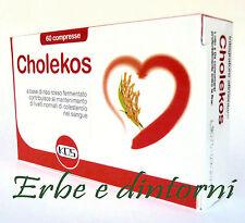CHOLEKOS 60 compresse con Riso rosso fermentato, monacolina K, colesterolo