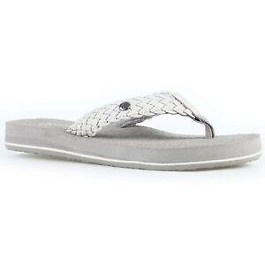 d2c10f0c7 Women Cobian BRAIDED BOUNCE BRB10  Cream Flip-Flop Thong Sandals ...