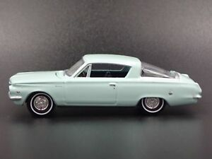 1964 PLYMOUTH BARRACUDA RARE 1/64 SCALE LIMITED COLLECTIBLE DIECAST MODEL CAR