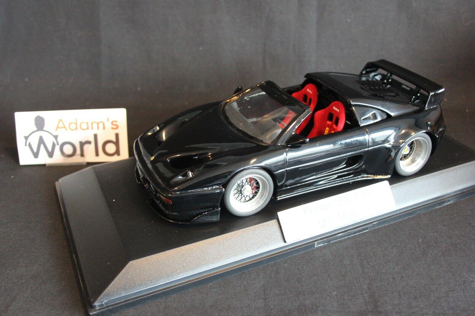 MT Models hand built Ferrari 355  F49  1 18 black (PJBB)