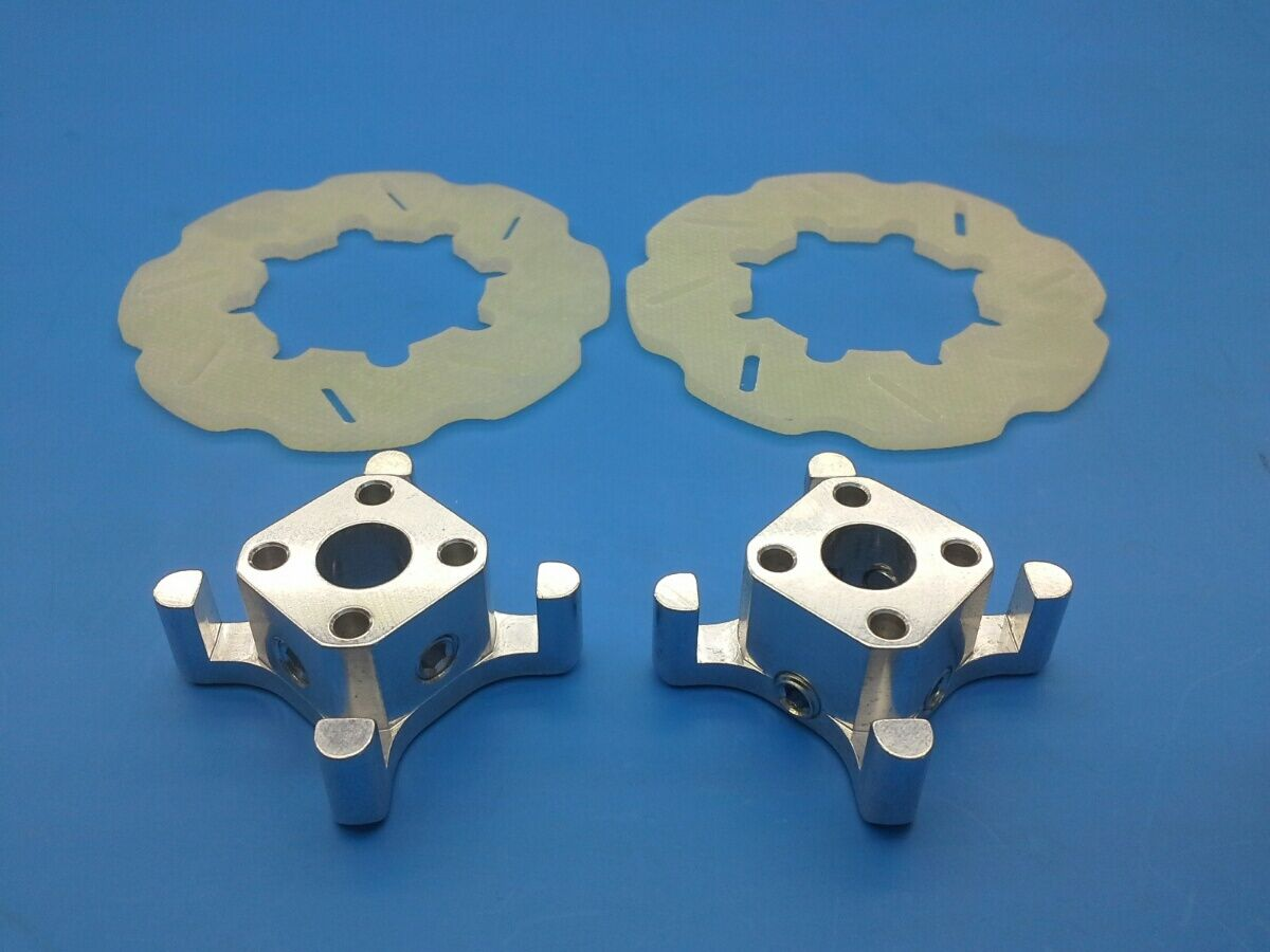 Lauterbacher radmitnehmer epoxy-discos de freno 63 mm para RC-Cars 1 5 + 1 6